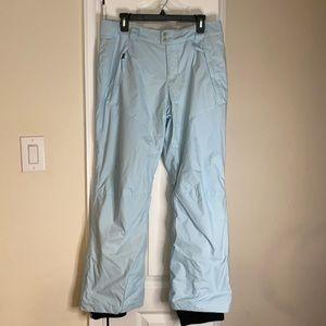 Columbia - Sz M - Snow pants - baby blue